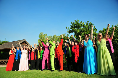 Photoshoot for Chorale in Cabaret, 2014