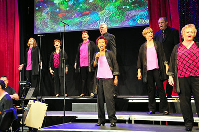 Chorale in Cabaret Dress Rehearsal, 2014
