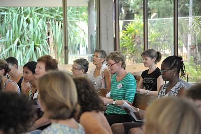 Gospel workshop led by Dynes Austin. Christ Church Cathedral, 2015