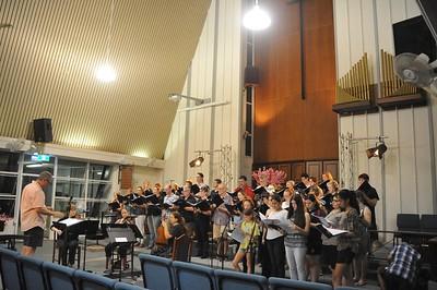 Pacific Requiem. Rehearsal 17.03.2017