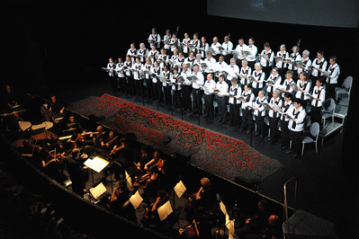 The armed man, A Mass for Peace by Karl Jenkins. 2015