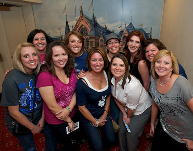 """Mom's night out' from NKY at Cincinnati Music Hall for Daughtry"