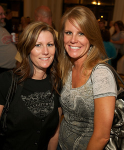 Dee and Erin of Lima, OH at Cincinnati Music Hall for Daughtry