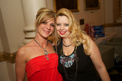 Tammy Bannigan and Velvet Heath of the West Side at Cincinnati Music Hall for Daughtry