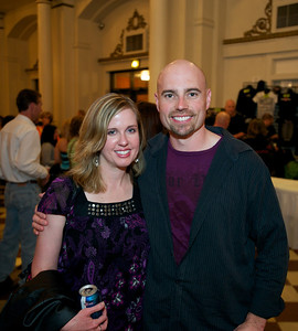 Teresa and Todd Paul from Dayton at Cincinnati Music Hall for Daughtry