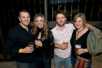 Dale, Pam, Matt and Stephanie of N. KY Friday night for Daughtry at the Bank of Kentucky Center