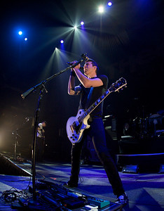 Theory of a Deadman opened Friday night for Daughtry at the Bank of Kentucky Center