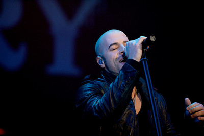 Daughtry performs Friday at the Bank of Kentucky Center