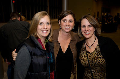 Caryn DeMann, Kristin Calme and Kim Wehby of N. KY Friday night for Daughtry at the Bank of Kentucky Center