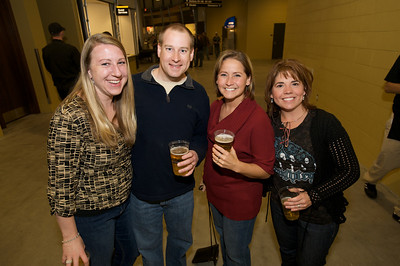 Stacy, David, Julie and Kim of N. KY Friday night for Daughtry at the Bank of Kentucky Center