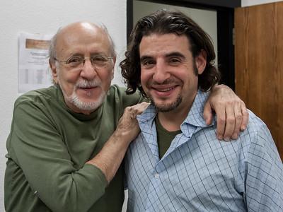 Peter yarrow and Jason Samel.