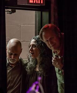 John Platt, Bethany Yarrow and Tom Chapin in the wings.