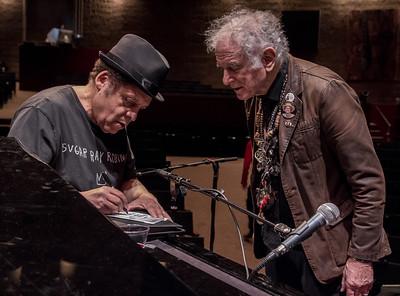 Garland Jeffreys and David Amram