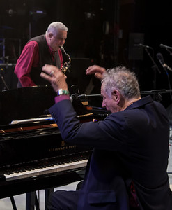 Paquito d'Rivera and David Amram, Symphony Space, 2012.