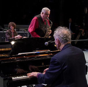 Adam Amram, Paquito d'Rivera and David Amram, 2012.