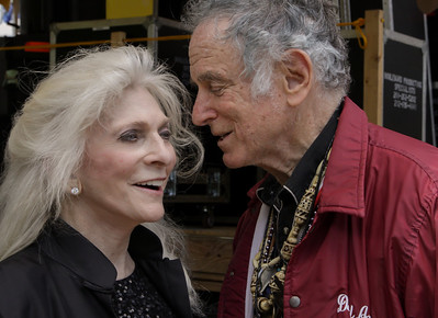Judy Collins and David Amram. 2013 Clearwater Festival.