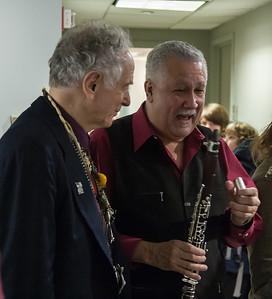 David Amram and Paquito d'Rivera, 2012.