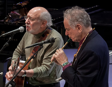Peter Yarrow and David Amram, Symphony Space, NYC 2012.