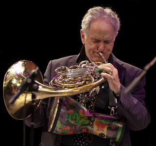 David Amram at Symphony Space, NYC October 2011 performing at the Hudson River Sloop Clearwater tribute to George Wein.