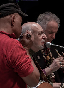 Guy davis, peter yarrow and David Amram, 2012.