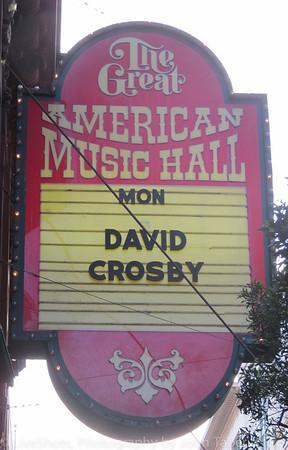 David Crosby Great American Music Hall 4 21 14