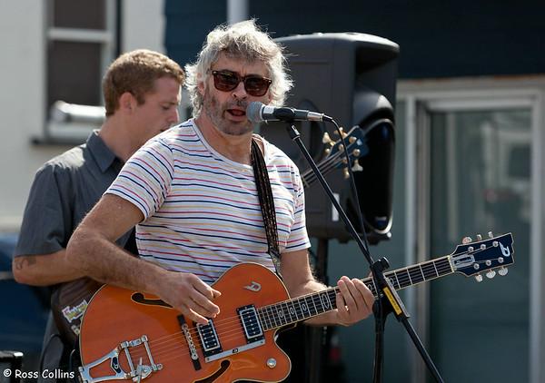 David Greer's Band at the Kilbirnie Fair 2013