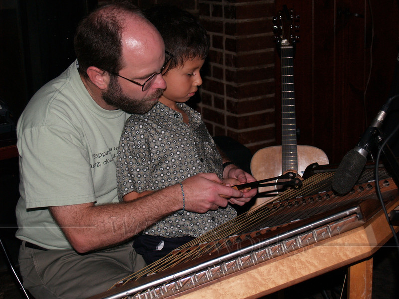 Cliff with a Budding Young Dulcimer Player, Boo's Party