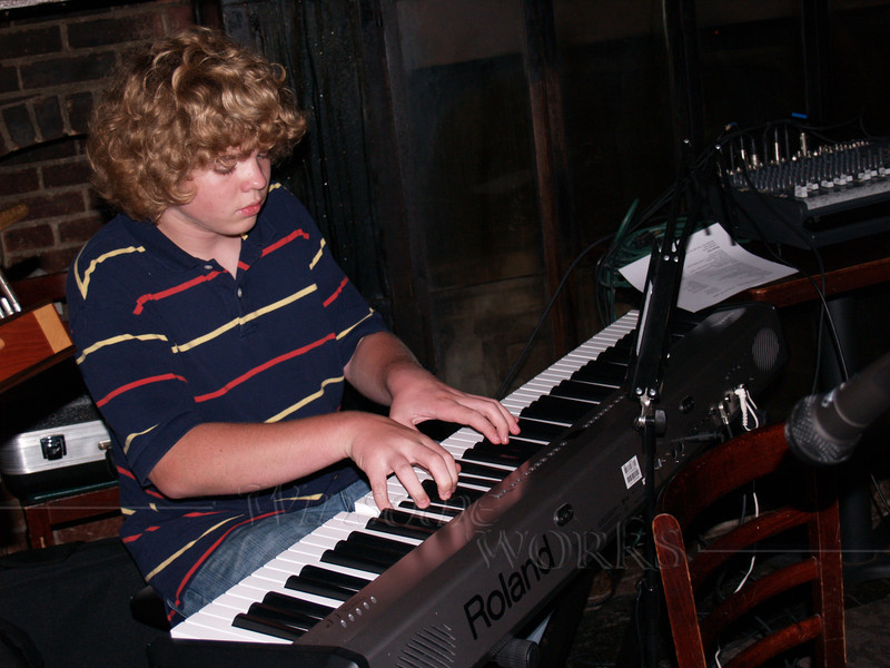 "Seth playing ""Maple Leaf Rag"", Boo's party"