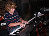"Seth playing ""Maple Leaf Rag"", Boo's party"
