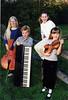 DayBreak kids, 2000? (from left: Trudy Yoder, Seth Yoder, Emily Cole, Lydia Yoder)