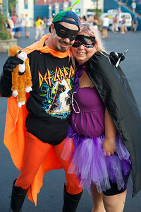 Squirtman and Sweet P from Columbus at Riverbend on Wednesday for Def Leppard and Heart