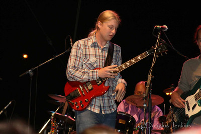Derek Trucks at the Sioux Falls Jazzfest July 20 2007