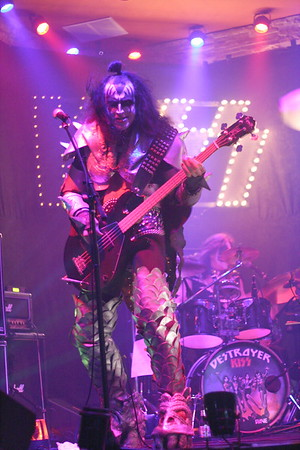 "118 ""Destroyer"" KISS Tribute Band - Texas, USA"