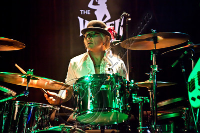 WEST HOLLYWOOD, CA - MAY 24:  Drummer Matt Sorum performs with Diamond Baby at The Viper Room on May 24, 2012 in West Hollywood, California.  (Photo by Chelsea Lauren/WireImage)