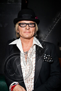 WEST HOLLYWOOD, CA - MAY 24:  Drummer Matt Sorum poses backstage at Diamond Baby performs at The Viper Room on May 24, 2012 in West Hollywood, California.  (Photo by Chelsea Lauren/WireImage)