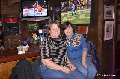 2014 Dilworth Billiards Christmas jam - Judy and Jeri