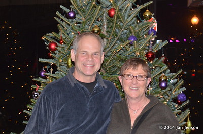 Chuck & Myka at 2014 Dilworth Billiards Christmas jam