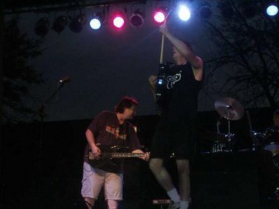 Dirty Deeds at Ribfest 2005 in Rockford Illinois