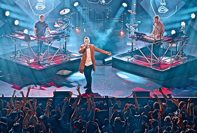 Disclosure and Guest Sam Smith in Concert