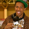 Nick Cannon showing his support for Dj Shazzle