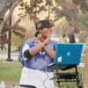 Dj Shazzle at Bowie State's Homecoming