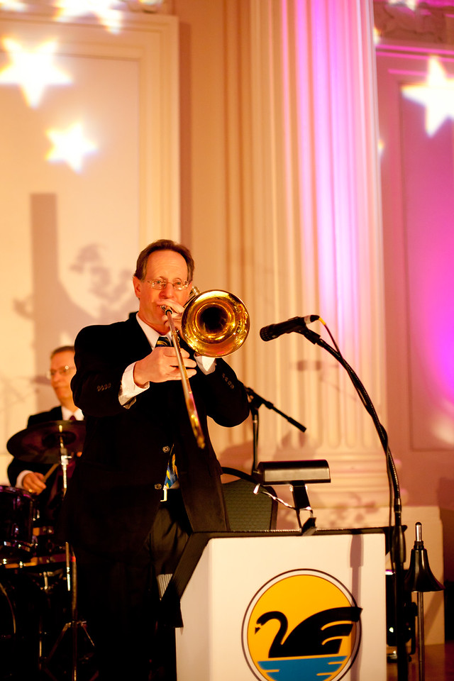"""Don Stone, trombone<br /> (Courtesy of """"A Niko Productions Video + Photo"""")"""