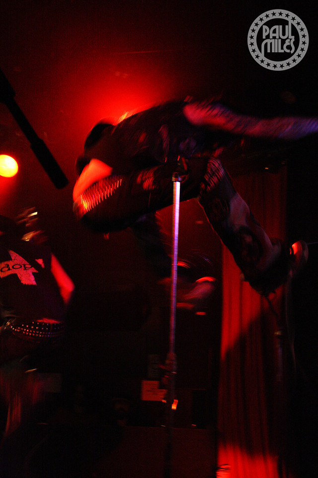 Dope brought a high-energy rock show to the Corner Hotel in Melbourne, Australia.