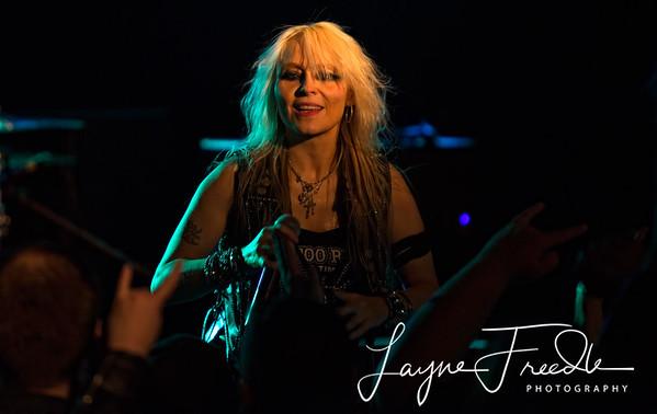 Doro Pesch - Sister Sin - El Corazon - Seattle WA 02-19-2013