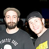 My cousin Frank with lead singer of Clutch and guitar player for Bakerton Group, Neil Fallon.
