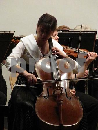 Ashley Sandor Sidon, guest soloist for the Fort Dodge Area Symphony's concert Doubley Dvorak!