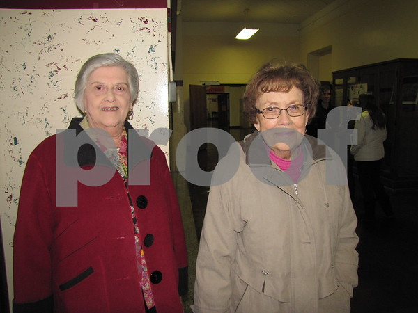Betty Heideman and Doris Porter