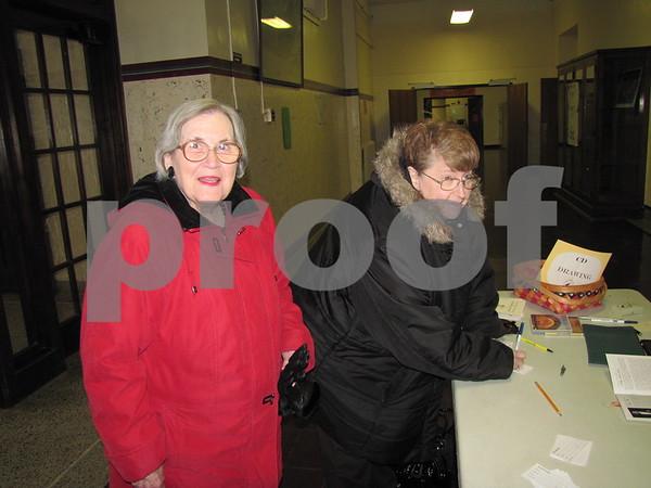 Barb Kondrath and Ruth Bennett