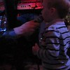 Everett takes a vocal solo