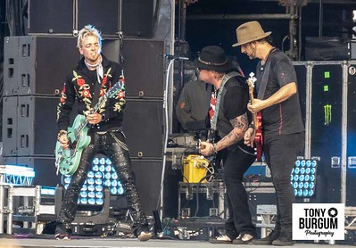 Black Stone Cherry play the Main stage at Download Festival 2018.